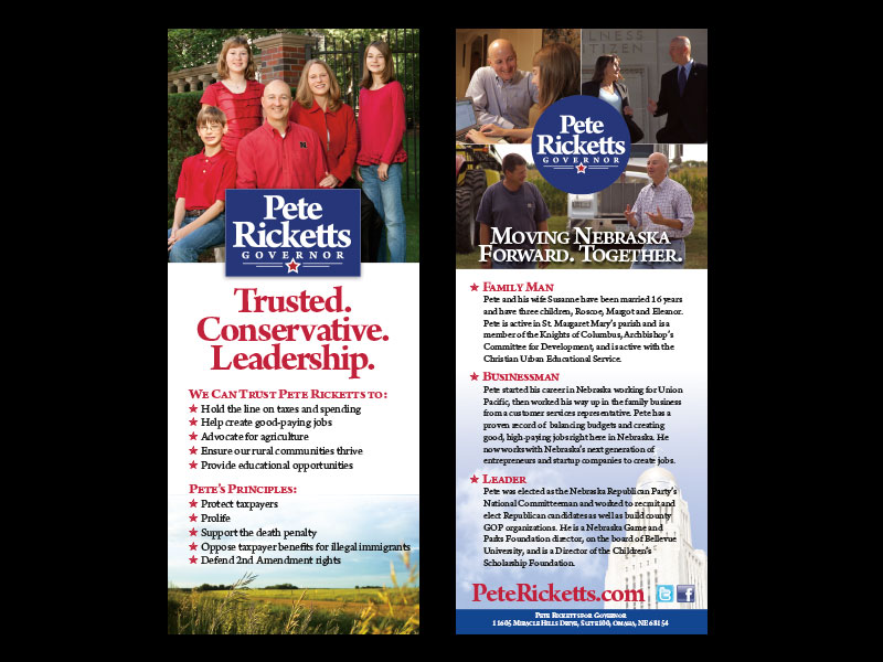 SDPcreative | Pete Ricketts for Nebraska Governor Campaign